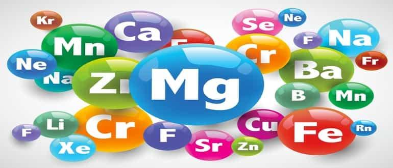 Микроэлементы: описание, список, полезные свойства